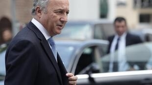 French Foreign affairs minister Laurent Fabius.