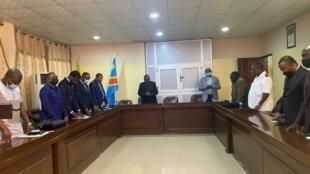 RDC reunion  conférence épiscopale 23/07/2021