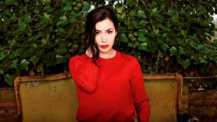 La chanteuse et romancière Olivia Ruiz.