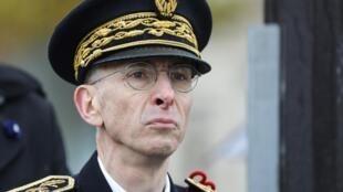 Le préfet de police de Paris Didier Lallement le 11 novembre 2019 lors des cérémonies de l'armistice.
