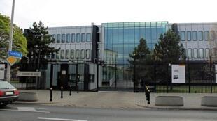 L'ambassade de France à Varsovie, en Pologne.