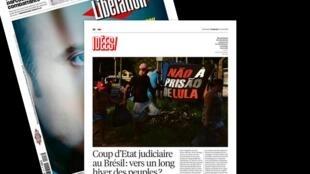 Artigo sobre o Brasil no jornal Libéração desta sexta-feira (13).