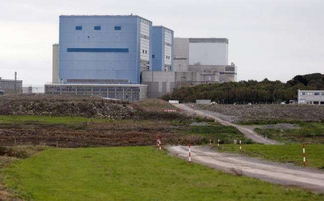 O local onde será construída a usina de Hinkley Point C.