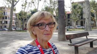 Maryvonne Lepage à Perpignan 2017.