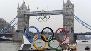 伦敦终于呈现出了浓浓的奥运气氛