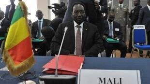 Mali's interim leader Dioncounda Traore, 3 May 2012