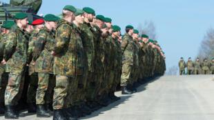 德国计划派遣1200名士兵参与打击伊斯兰国组织