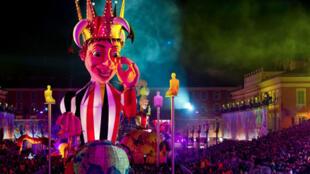 O carnaval de Nice comemora este ano sua 130ª edição.