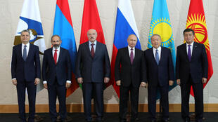 Leaders of the Eurasian Economic Council meet in Sochi, 2018