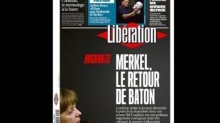 O jornal Libération destaca a derrota eleitoral do seu partido