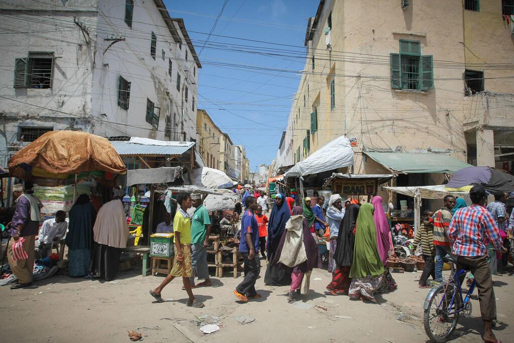 Vue de la ville de Mogadiscio, la capitale somalienne. (Photo d'illustration)