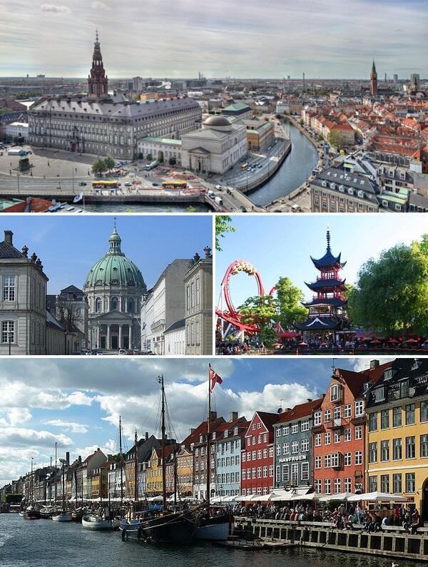 Thủ đô Copenhague, Đan Mạch.