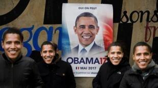 Faransawa na son Obama a matsayin shugaban kasarsu
