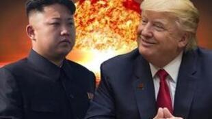 美国总统特朗普答应5月底前与朝鲜领袖金正恩会面 2018年3月9日