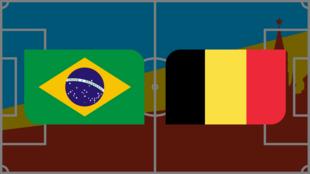 Coupe du monde 2018: vivez Brésil-Belgique en direct