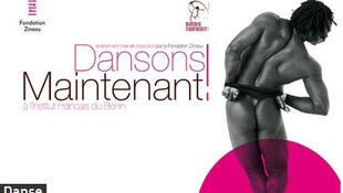 Affiche du festival de danse contemporaine du Bénin «Dansons maintenant»