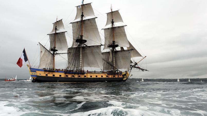 کشتی که با ٦٥ متر طول و بیشتر از ٢ هزار متر مربع بادبان، از روی کشتی ژنرال لافایت، نظامی معروف فرانسوی در سفرش به آمریکا کپی برداری شده