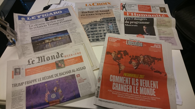 Diários franceses 07.04.2017
