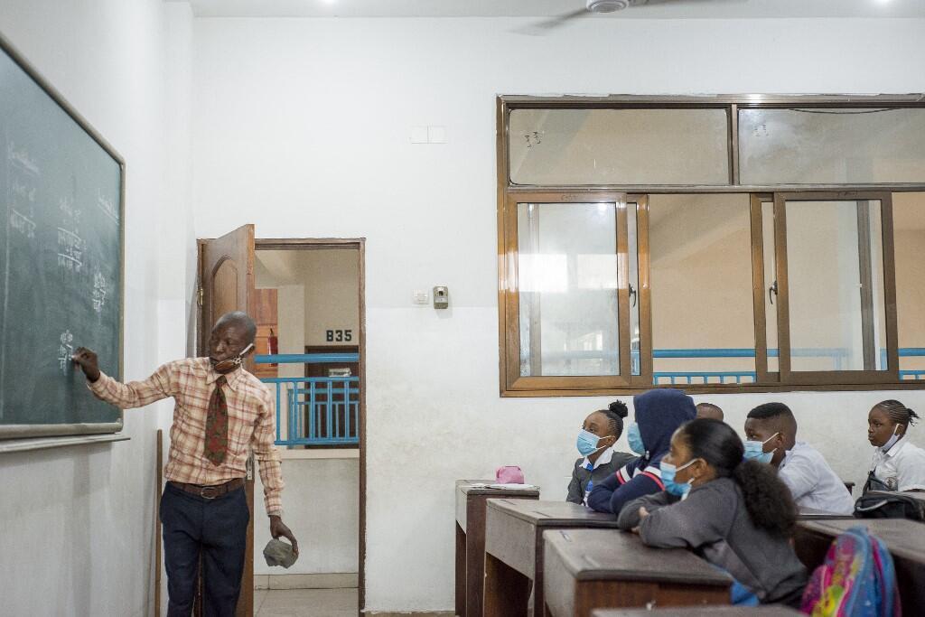 Classe Kinshasa RDC