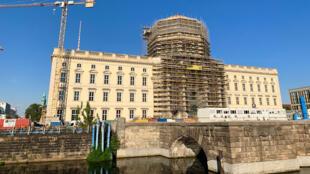 Le forum Humboldt à Berlin en Allemagne.
