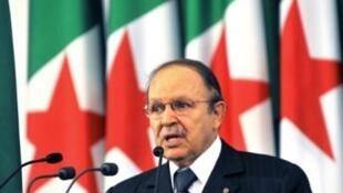 Shugaban kasar Algeriya  Abdelaziz Bouteflika