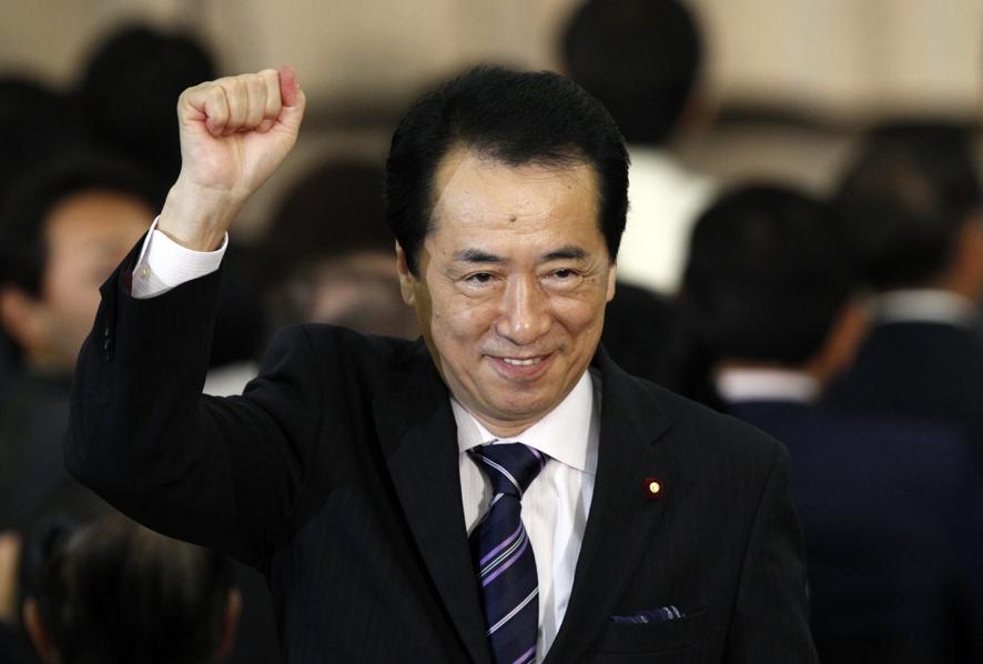 Naoto Kan sabon Prime Minsiatn kasar Japan