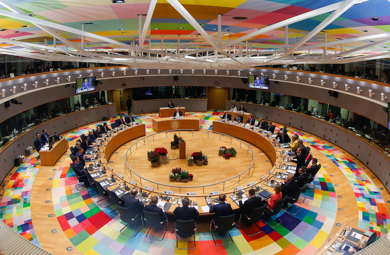 Thượng đỉnh Liên Hiệp Châu Âu cuối cùng trong năm 2017 tại Bruxelles. Ảnh ngày 15/12/2017.