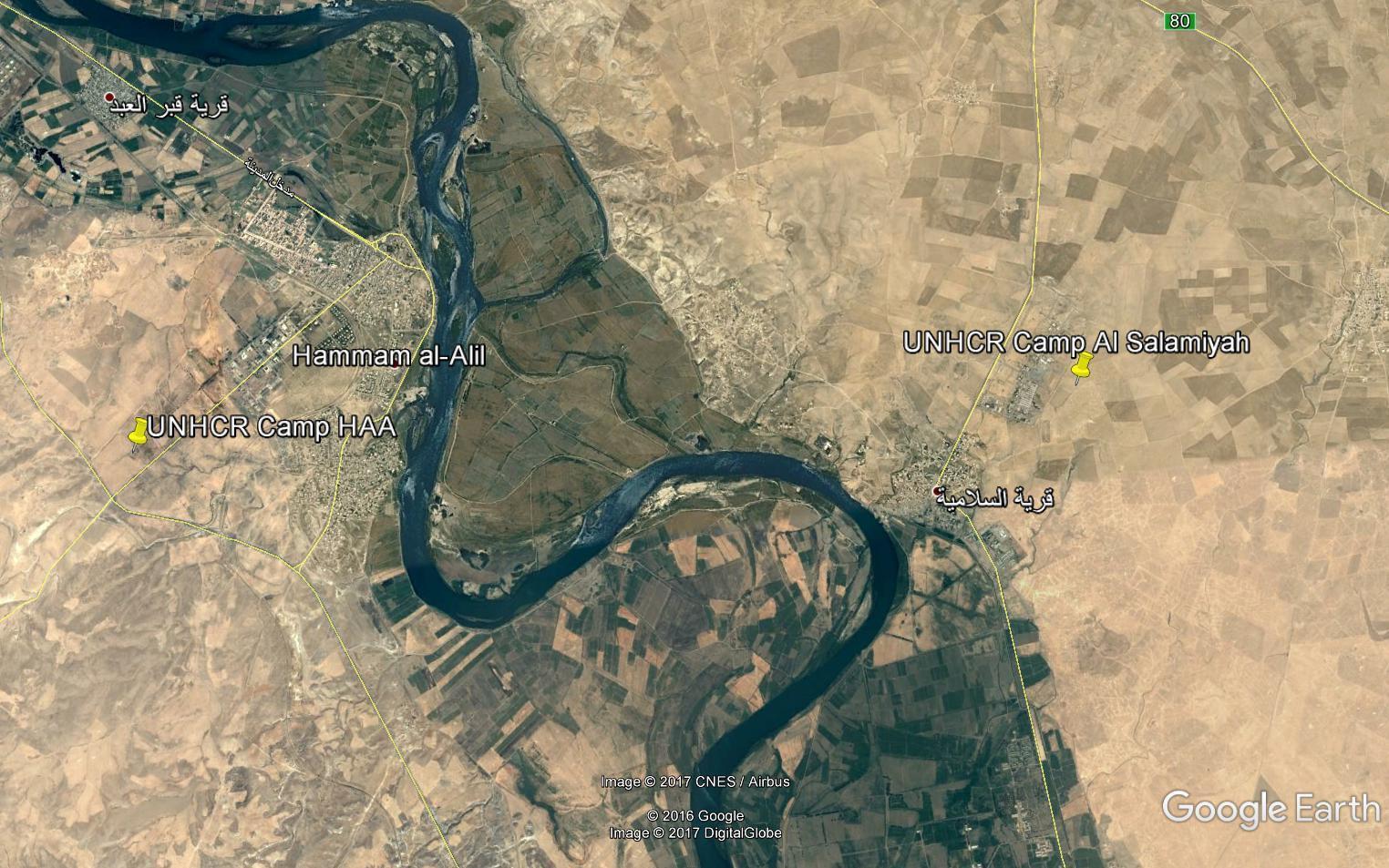Лагеря беженцев в Ираке