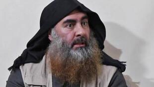 """恐怖组织""""伊斯兰国""""前首领巴格达迪资料图片"""