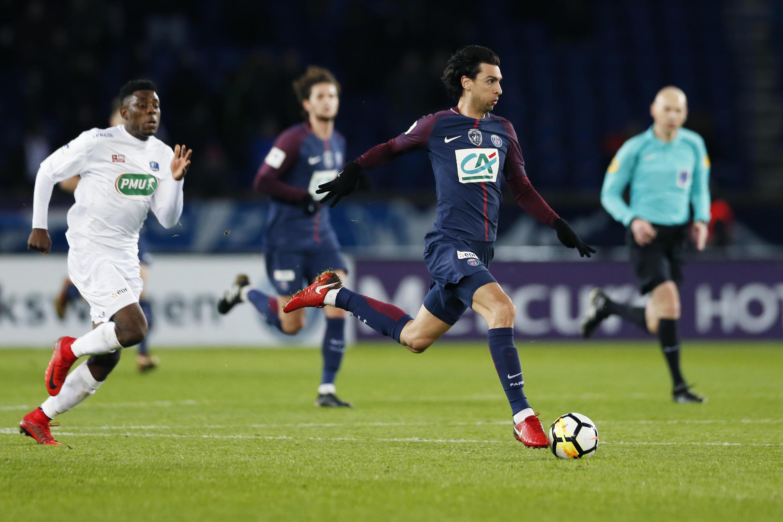 O Paris Saint Germain venceu por 4-2 o Guingamp