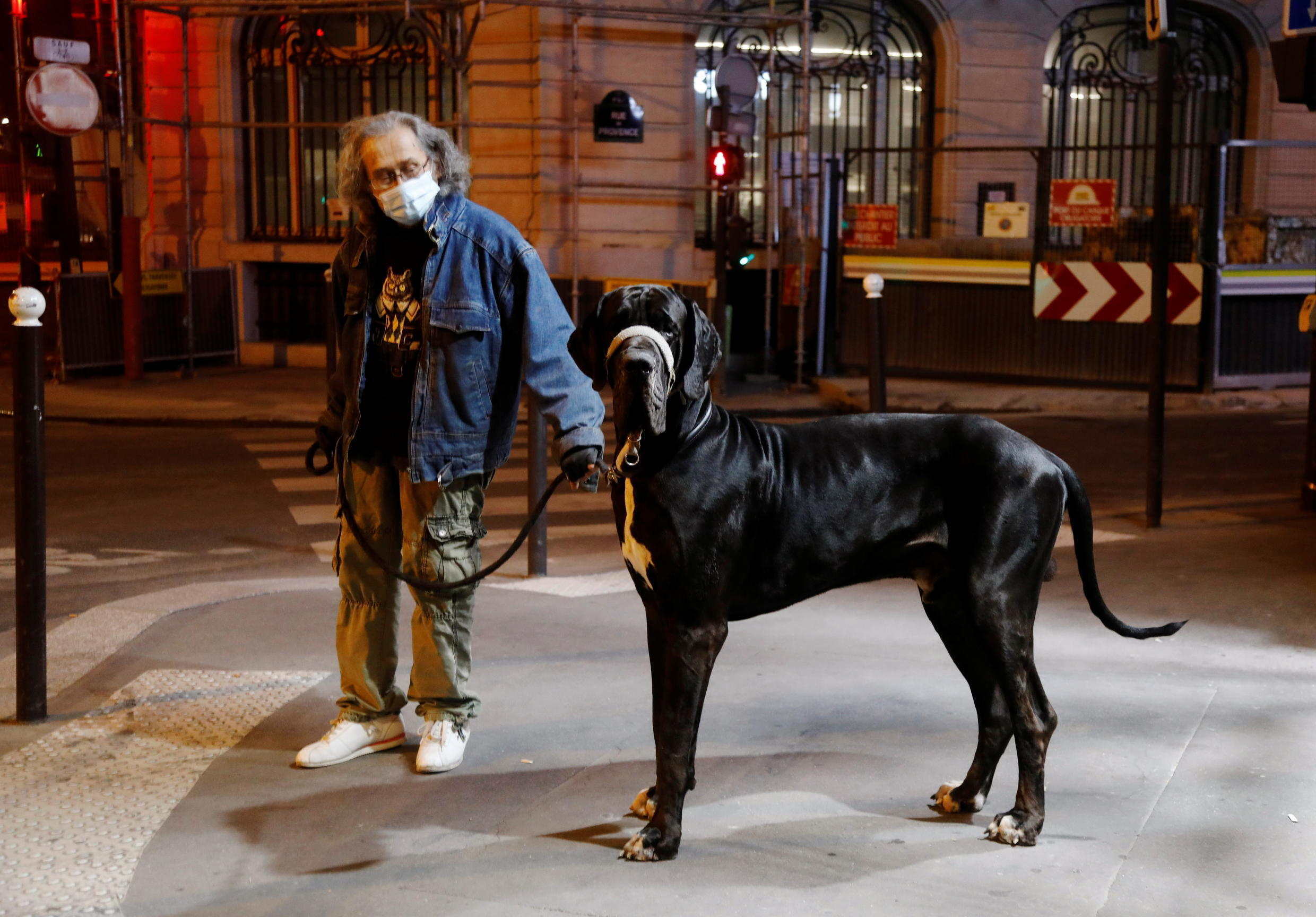 People will need a signed certificate or an electronic version downloaded to a phone for activities allowed during the curfew, such as walking their dog.