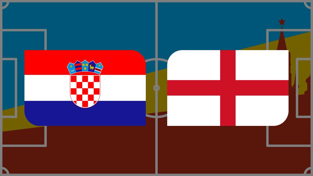 Coupe du monde 2018: vivez Croatie-Angleterre en direct