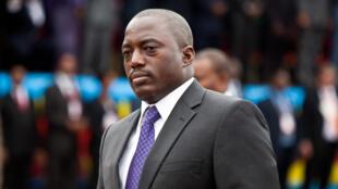 Jospeh Kabila, rais wa DRC (Desemba 2011).