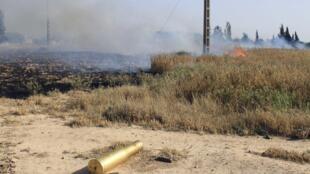 Combates permanecem na região de Quseir, neste sábado.