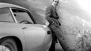 著名蘇格蘭演員肖恩·康納利飾演邦德電影《007:金手指》資料圖片