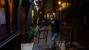Paris has not knowna curfew since 1961