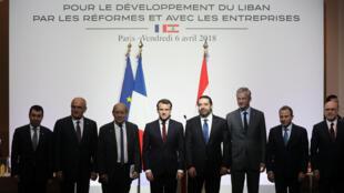 جامعه جهانی روز جمعه ۶ آوریل/ ۱۷ فروردین در کنفرانس پاریس ۴ برای اعطای یک کمک یازده میلیارد دلاری در قالب وام یا اهدای مالی به لبنان متعهد شد.