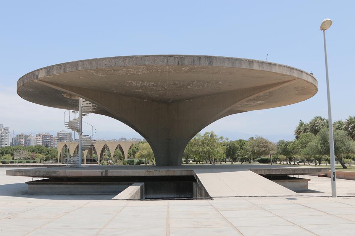 Museu do espaço dentro da Feira de Trípoli
