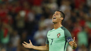 Cristiano Ronaldo scored his third goal of the tournament.