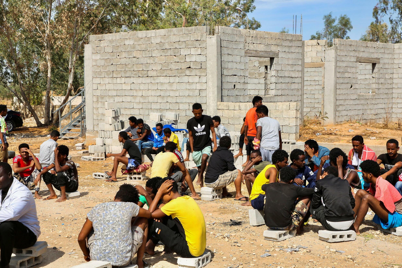 libye camp migrants détention