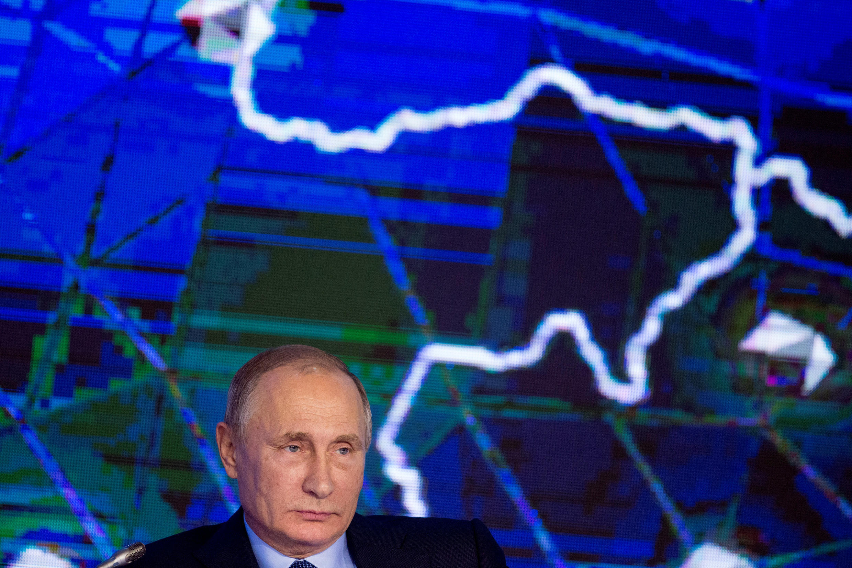 Владимир Путин, 18 октября 2016.