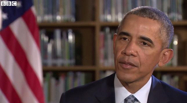باراک اوباما، رئیس جمهوری آمریکا، در گفتوگو با شبکه بیبیسی