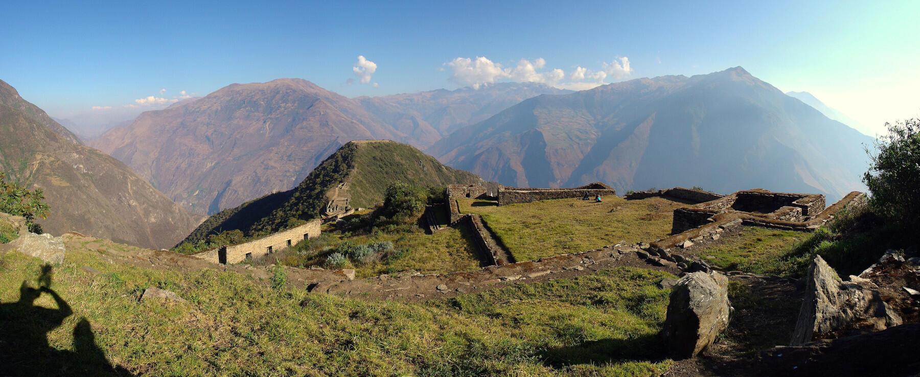 Les ruines de Choquequirao sont considérés comme un second Machu Picchu.