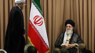 دیدار خامنهای با مقامات جمهوری اسلامی