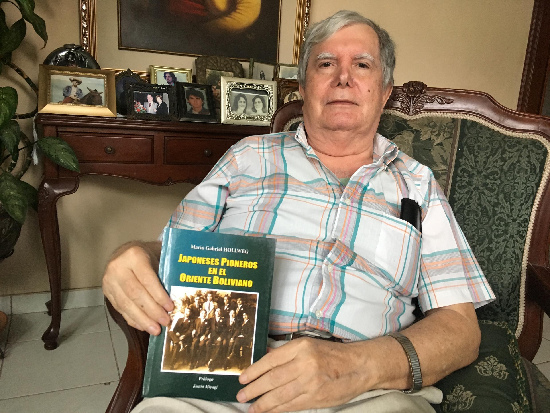 O médico Mario Gabriel Hollweg, nascido na Bolívia e formado no Brasil