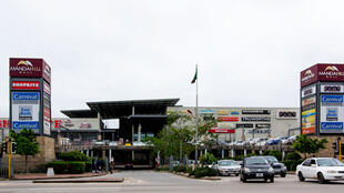 Manda Hill shopping mall in Lusaka, Zambia