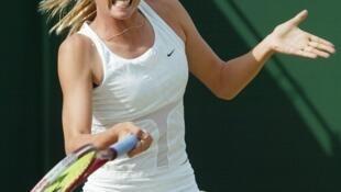 La Russe Maria Sharapova, sportive la mieux payée au monde.