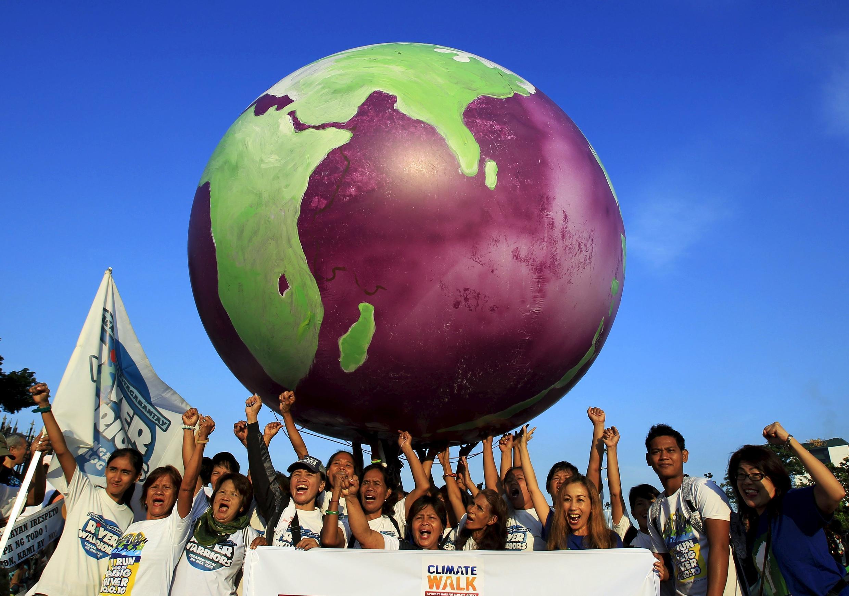 為世界氣候公平行走行動