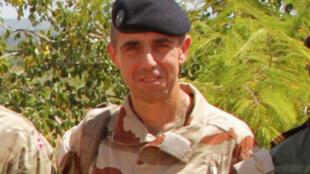 Le général François Labuze, chef de la force antiterroriste française Barkhane au Mali.