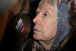 Людмила Алексеева глава московской Хельсинкской Группы